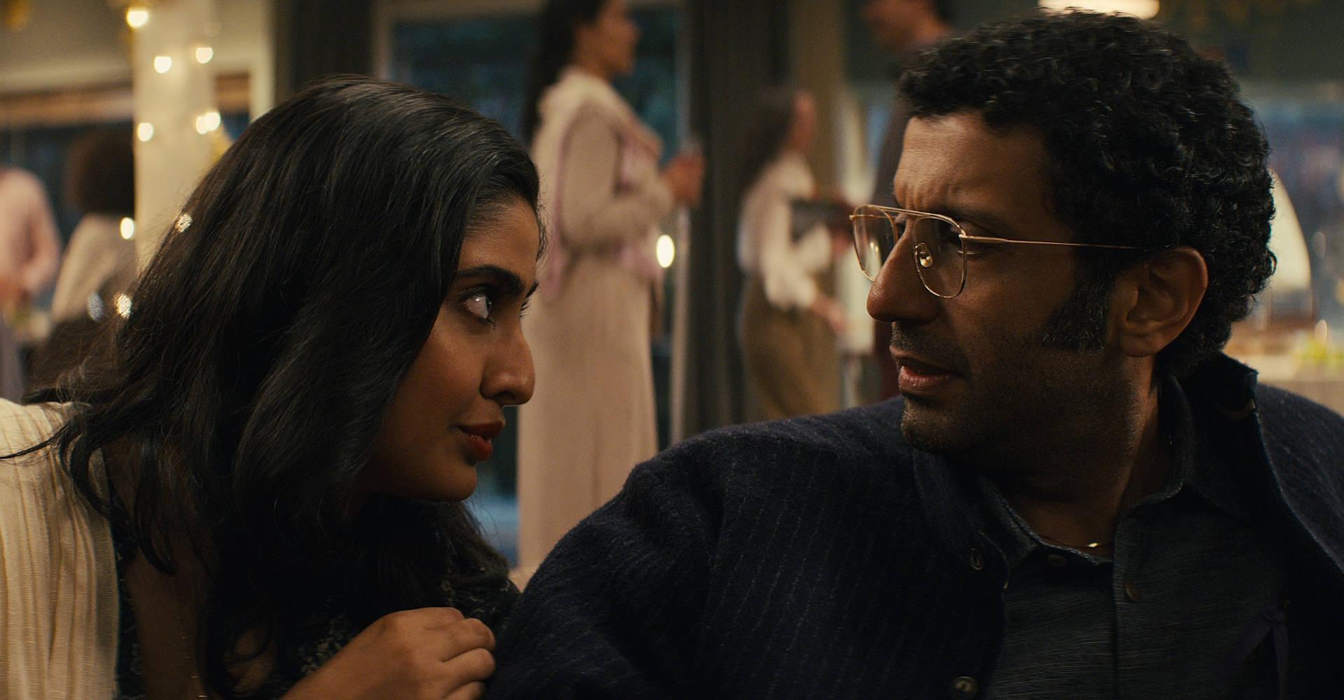 Dr. Singh und seine Frau Rani in Sweet Tooth.