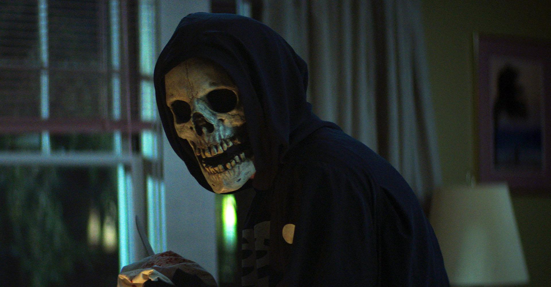 Maskierter Mörder in einem der Fear-Street-Filme auf Netflix