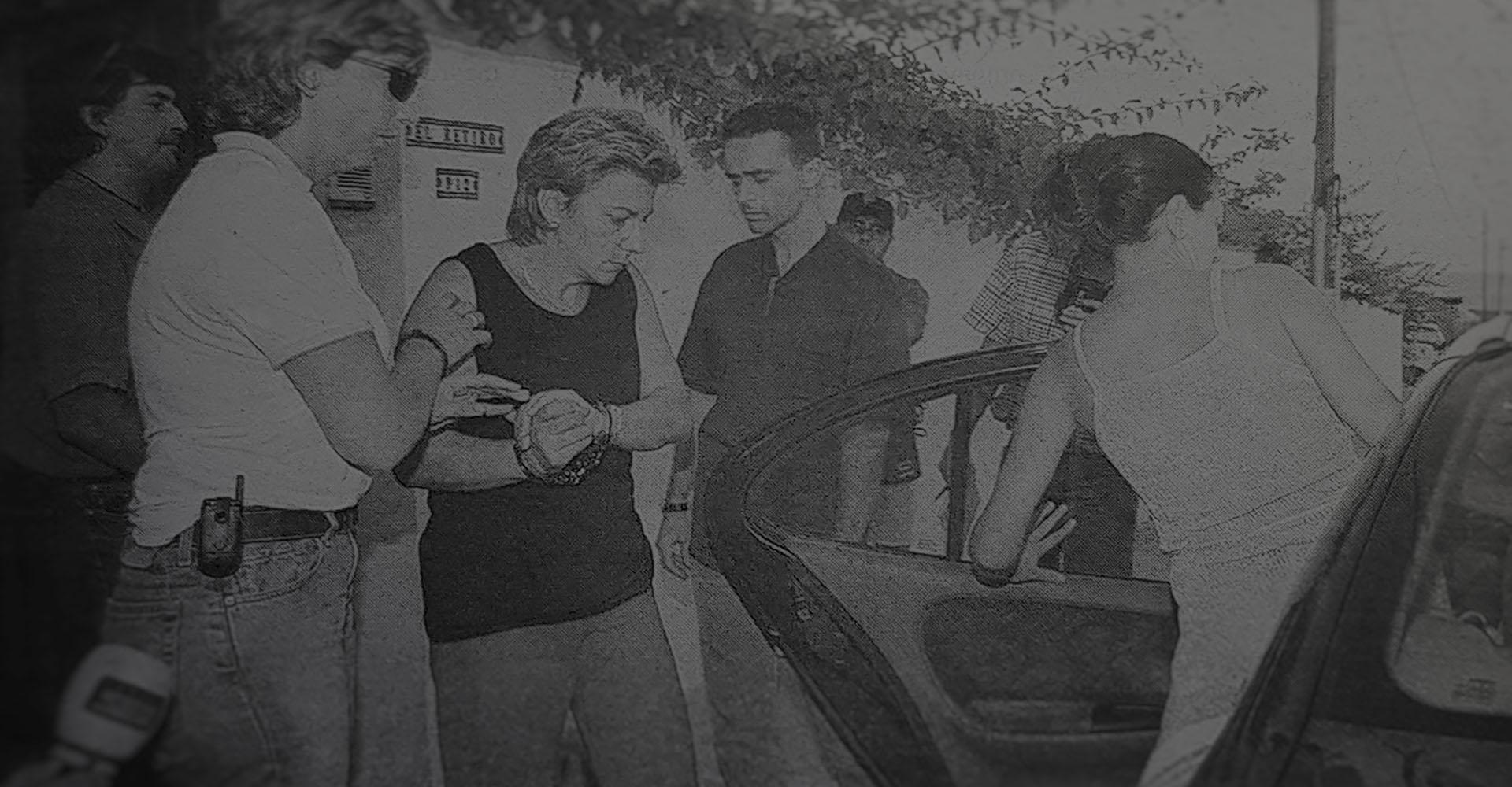 María Dolores Vázquez wird für den Mord an Rocío Wanninkhof verhaftet.