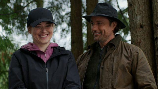 Mel (Alexandra Breckenridge) und Jack (Martin Henderson) in Staffel 2 von Virgin River