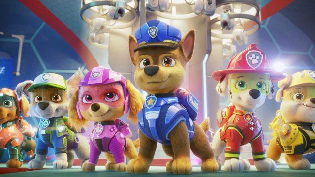 Die Superhunde aus Paw Patrol: Der Kinofilm