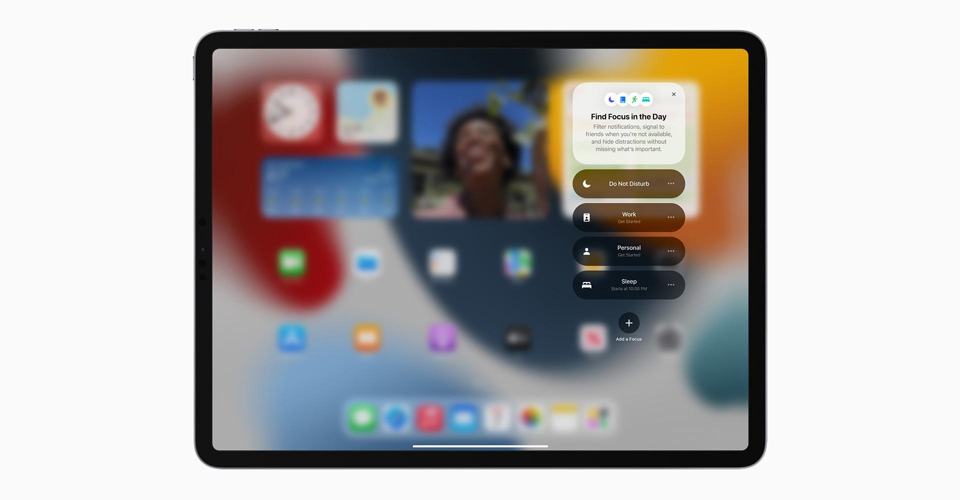 Neues Focus-Feature von iPadOS 15