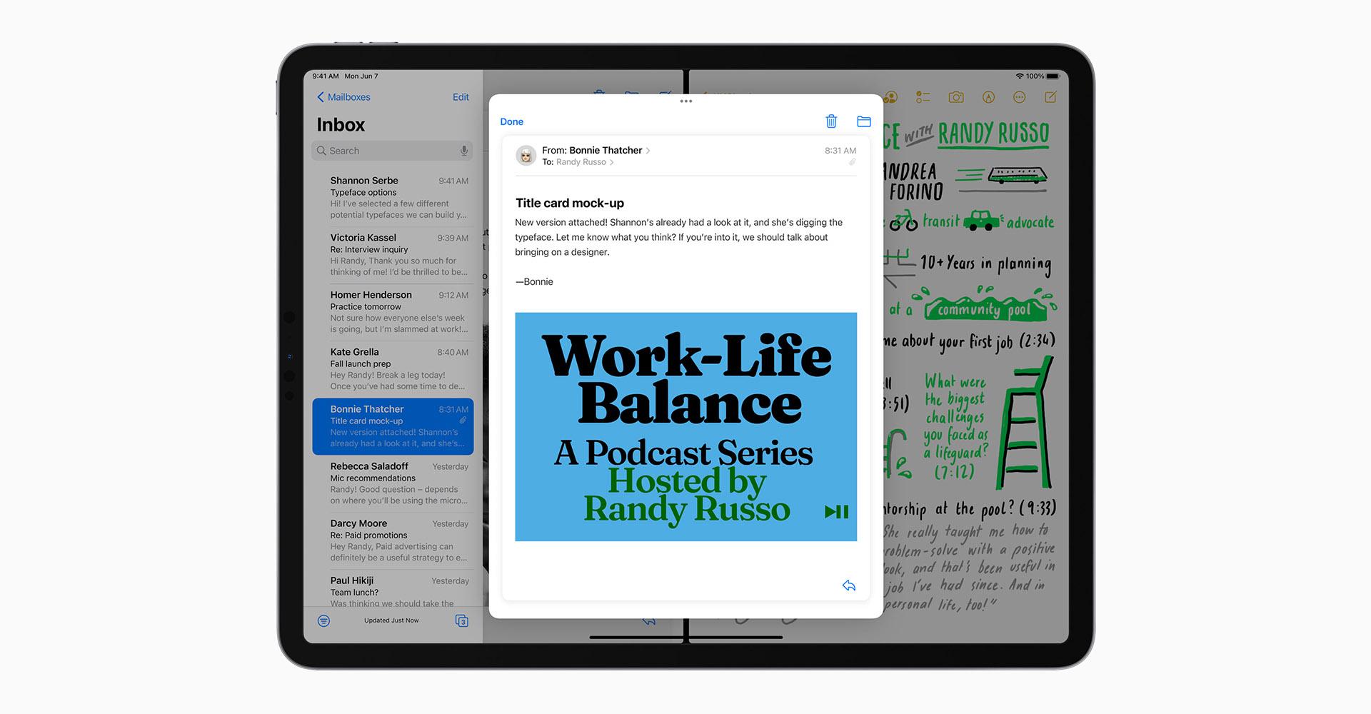neue Split-View-Funktionen unter iPadOS 15