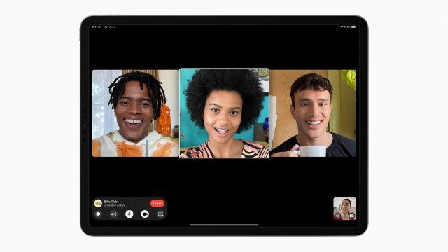 FaceTime auf dem iPad