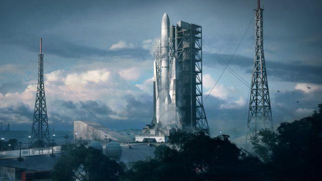 """Eine Raketenbasis in Französisch-Guyana im Spiel """"Battlefield 2042""""."""
