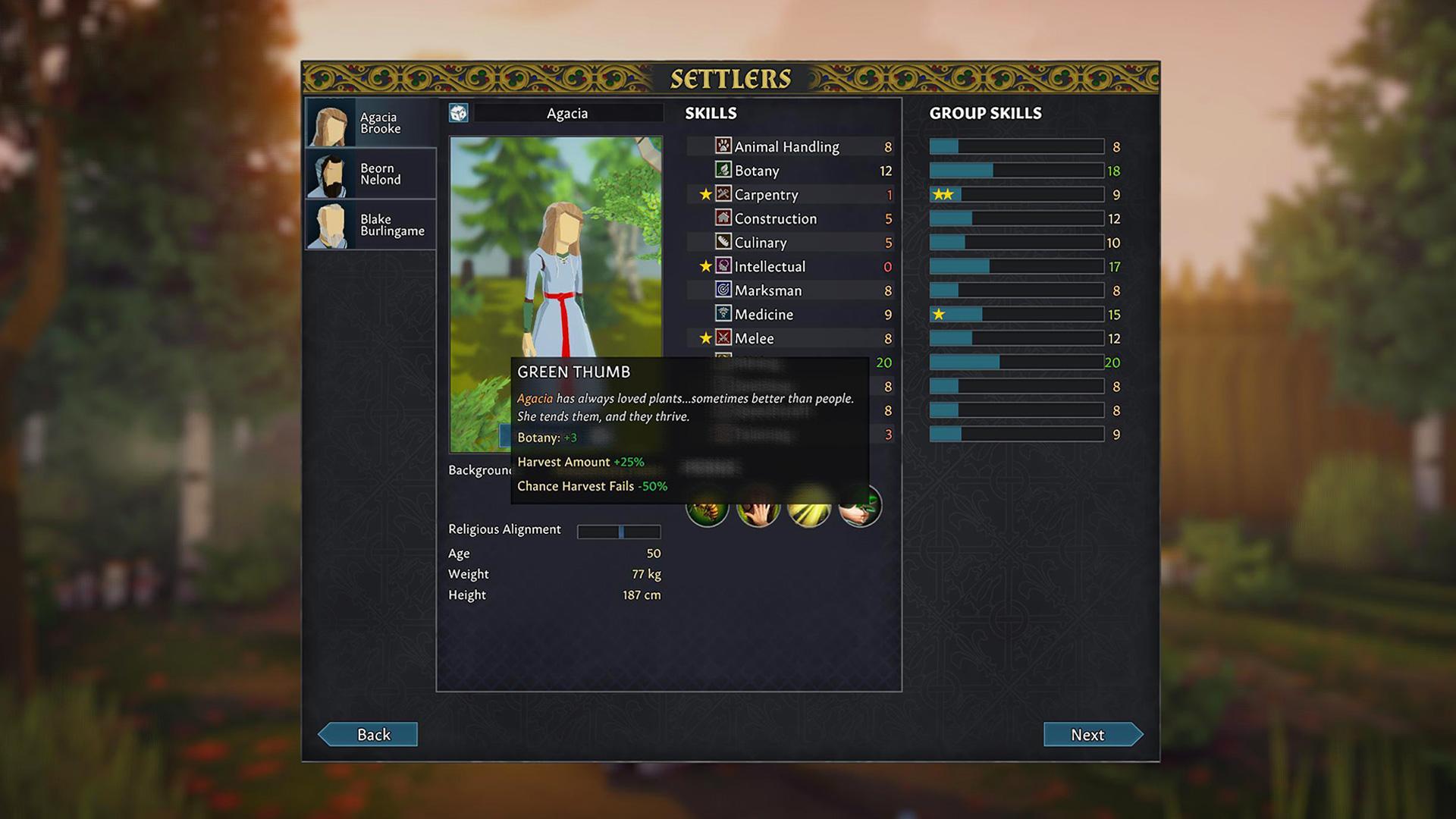 Ein Screenshot aus dem Spiel Going Medieval