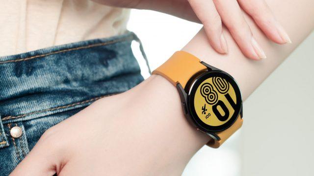 Galaxy Watch4 am Handgelenk