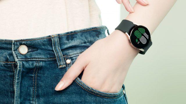 Galaxy Watch 4 am Handgelenk