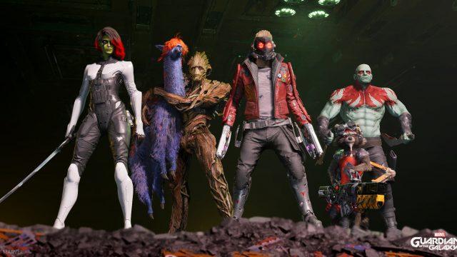 Marvel's Guardians of the Galaxy Crewfoto