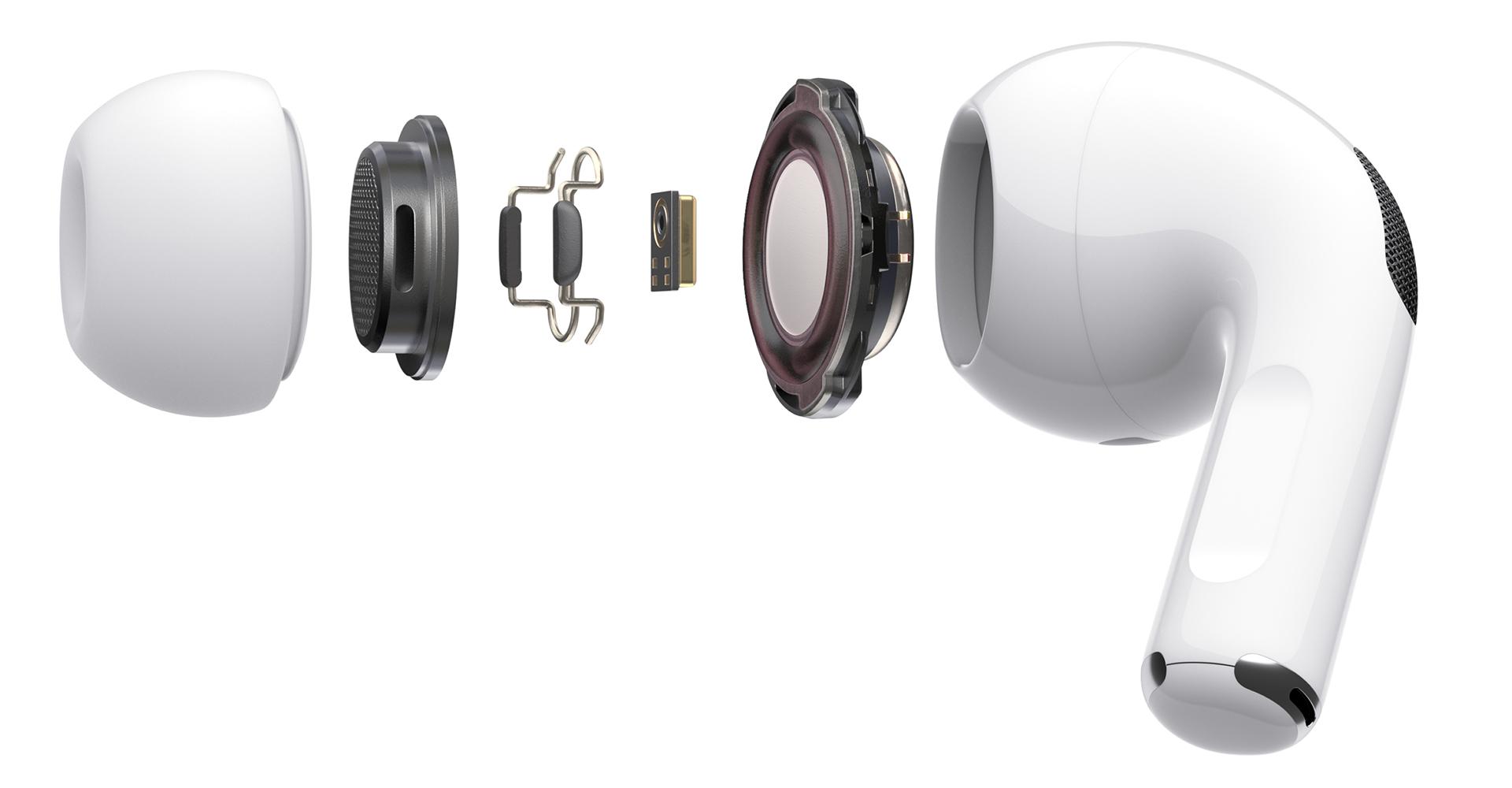 Innerer Aufbau der Apple AirPods Pro