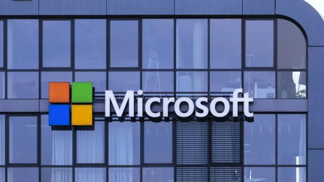 Das Logo von Microsoft, den Windows-11-Entwicklern
