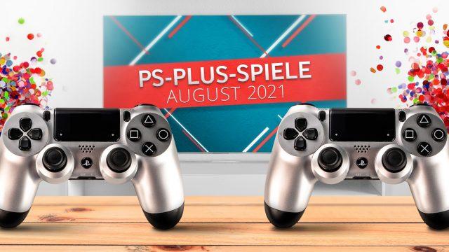 Banner für PS Plus Games August 2021
