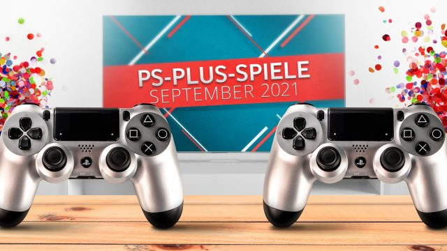 Banner für PS Plus Games September 2021