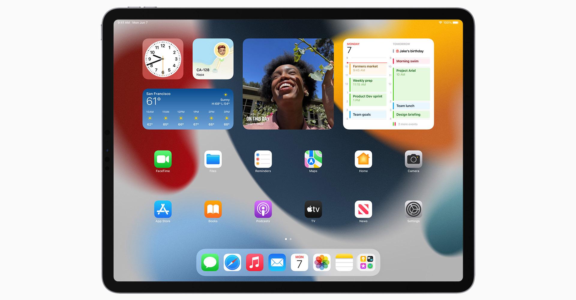 Widgets auf dem Homescreen unter iPadOS 15