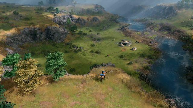 Ein einzelner Späher in Age of Empires 4