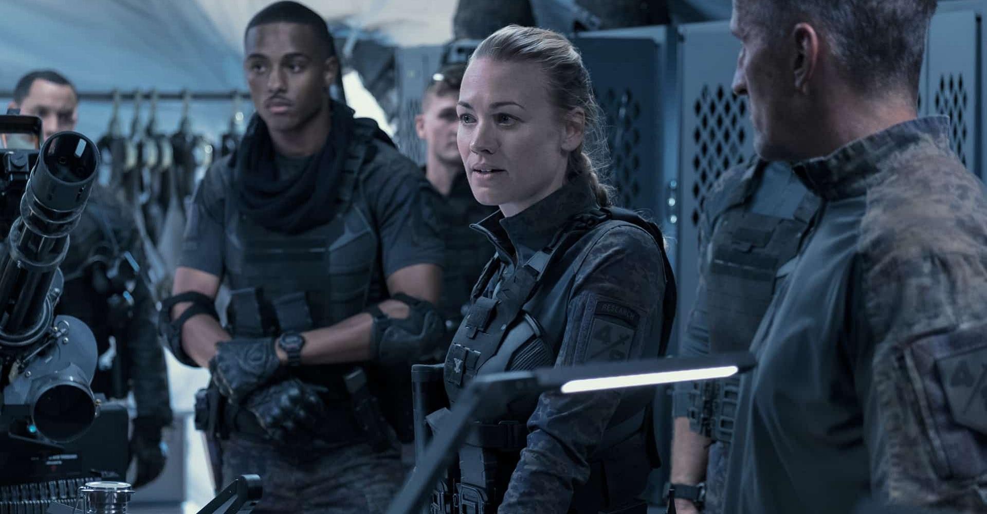 Der Cast von The Tomorrow War