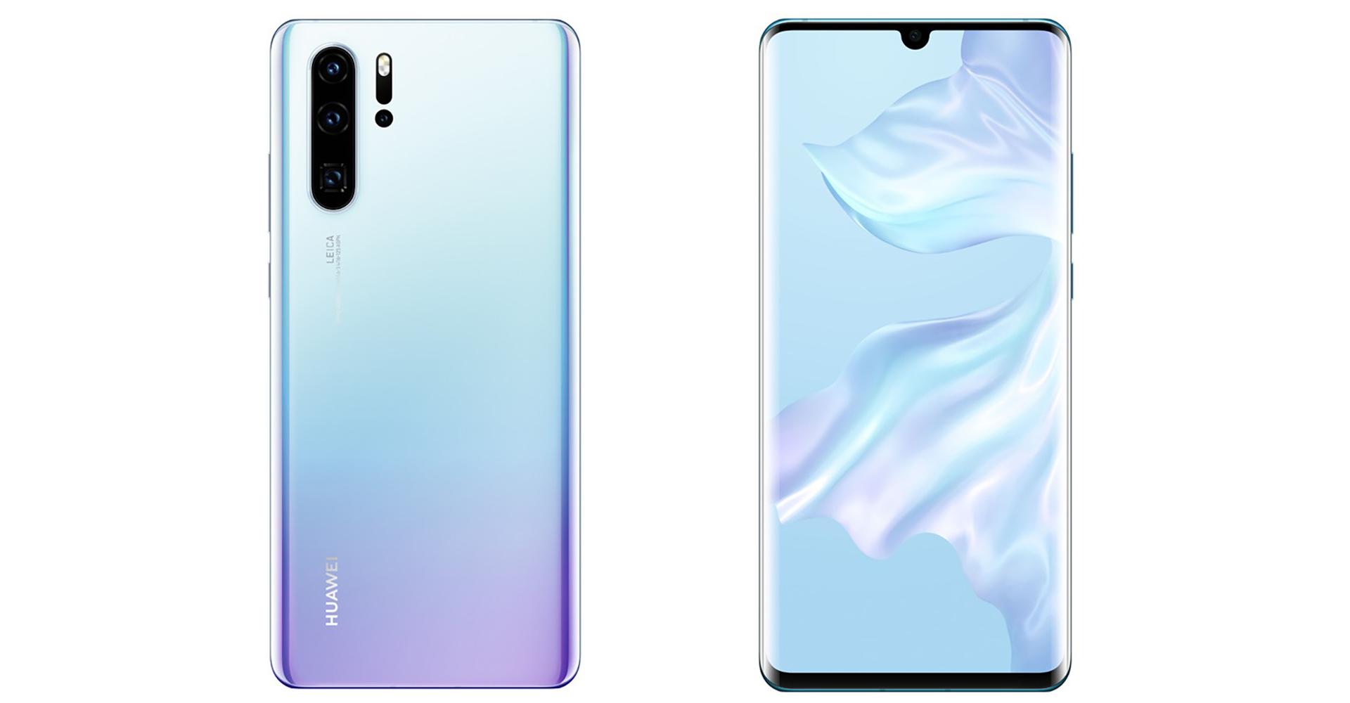 Das Huawei P30: Rückseite und Front
