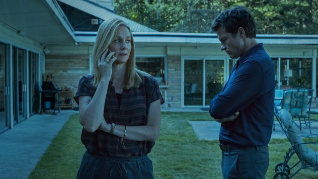 Laura Linney und Jason Bateman in Staffel 3 von Ozark