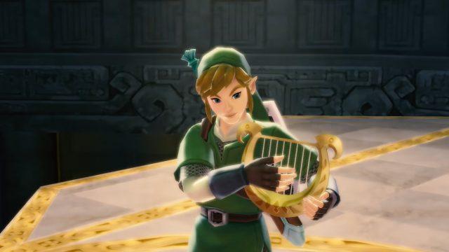 Screenshot aus The Legend of Zelda: Skyward Sword