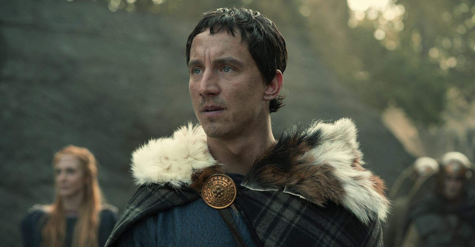 Laurence Rupp als Arminius in der Netflix-Serie Barbaren