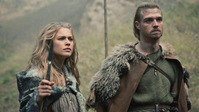 Thusnelda und Folkwin in der Netflix-Serie Barbaren