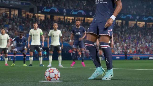"""Gameplay von """"FIFA 22"""""""