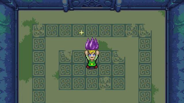 Gameplay von The Legend of Zelda: The Minish Cap auf dem GBA