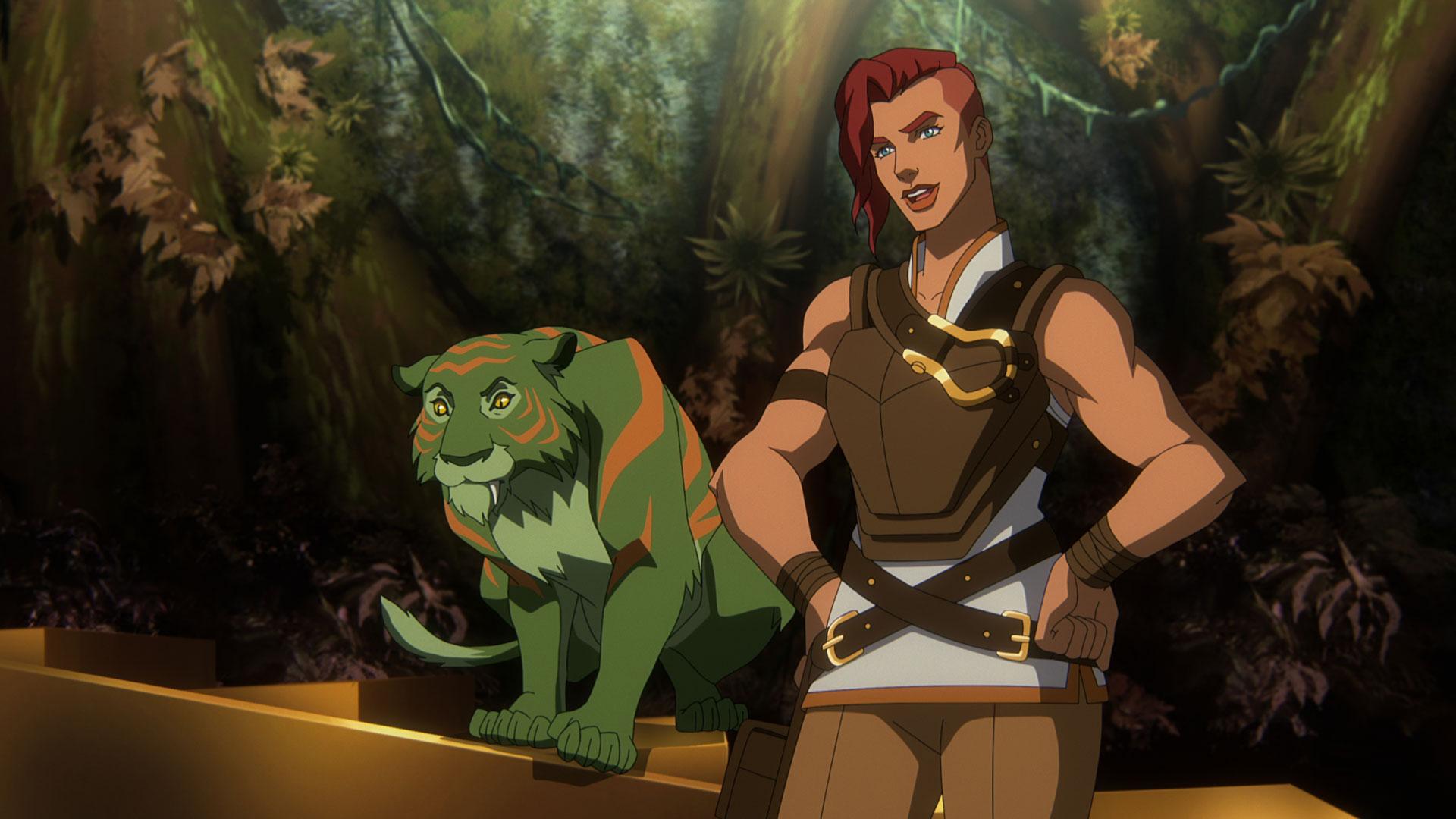 He-Mans treue Begleiterin Teela in Masters of the Universe: Revelation