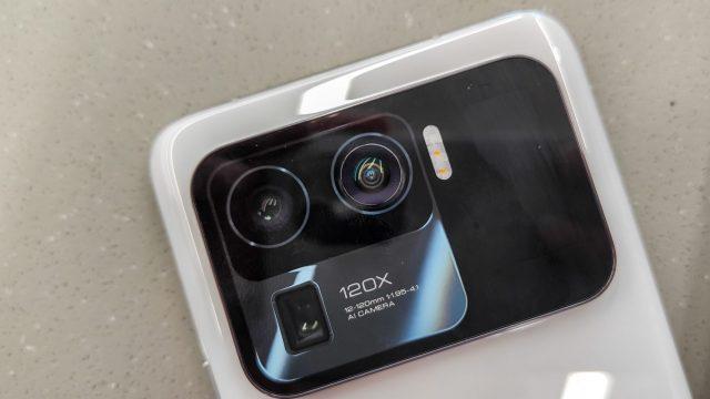 Die Kamera des Xiaomi Mi 11 Ultra