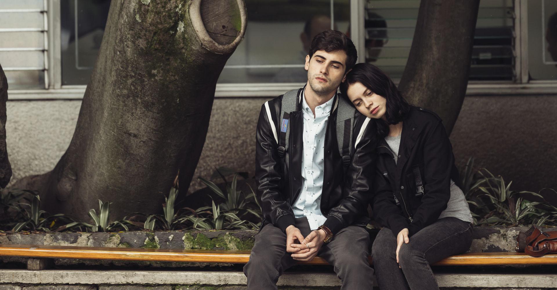Raul und Sofia in Control Z Staffel 1