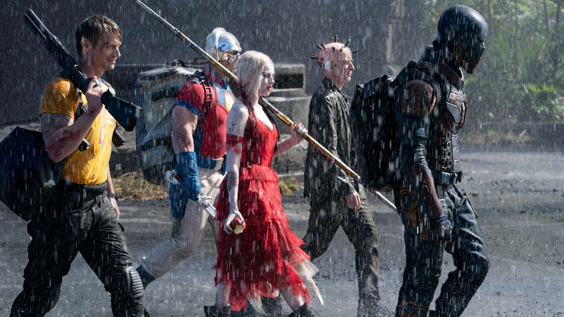 The Suicide Squad Harley Quinn und Cast