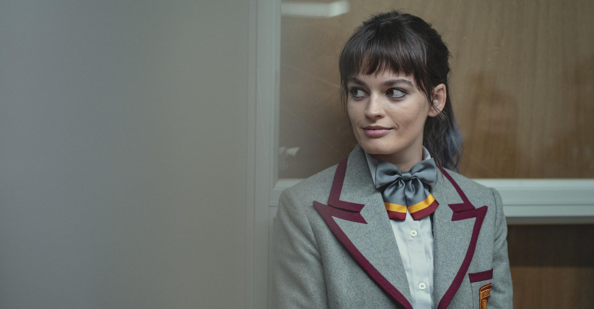 Emma Mackey als Maeve in Sex Education Staffel 3