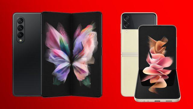 Samsung Galaxy Z Fold3 5G und Z Flip3 5G