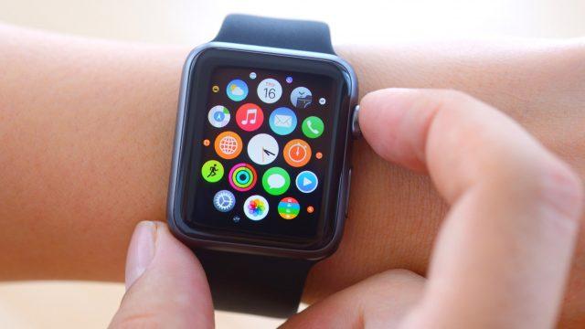 App-Übersicht auf der Apple Watch