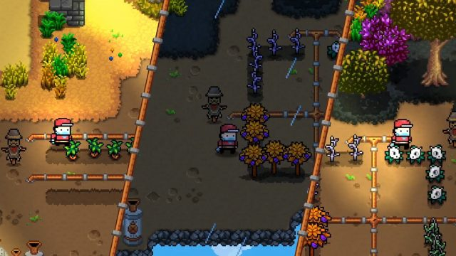 In Monster Harvest gibt es verschiedene Jahreszeiten und einen Tag-Nacht-Zyklus.