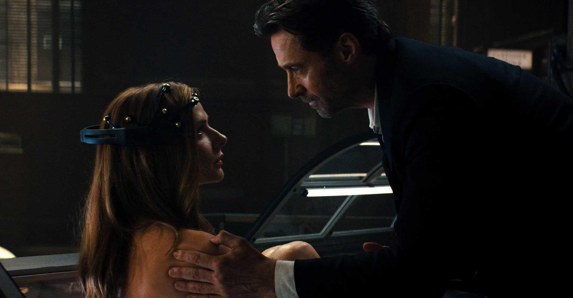 Hugh Jackman und Rebecca Ferguson in Reminiscence