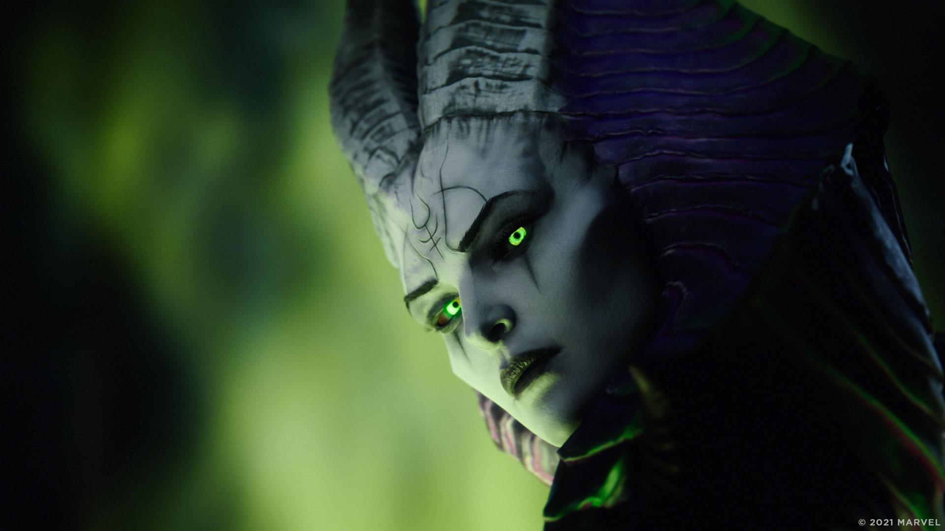 Lilith, die Mutter der Dämonen, im Spiel Marvel's Midnight Suns