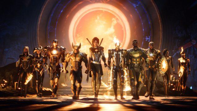 Die Spielefiguren im Game Marvel's Midnight Suns
