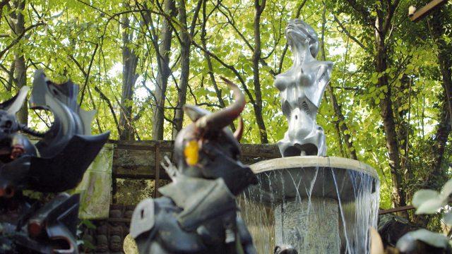 Skulpturen von HR Giger
