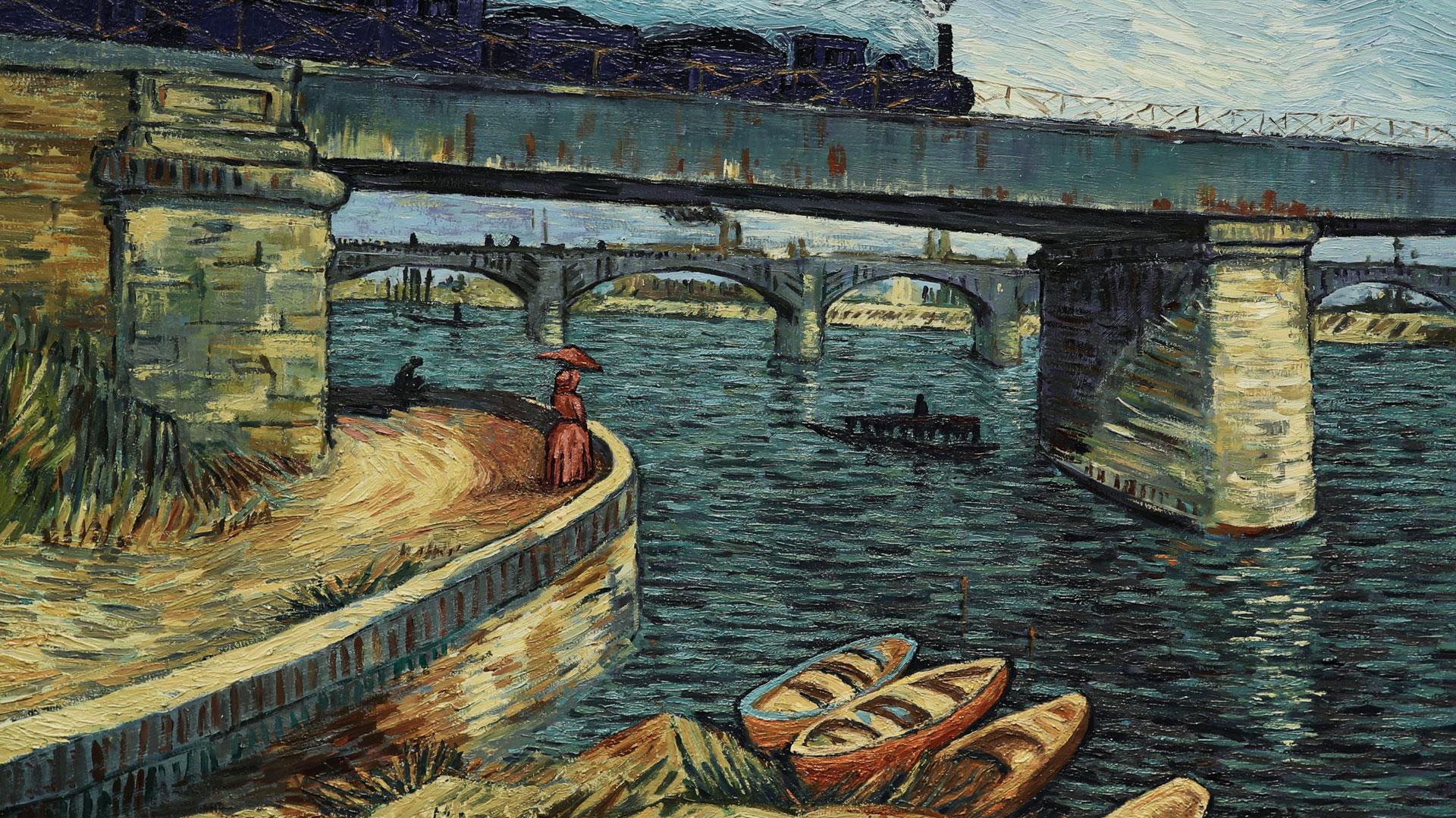 Eine Szene aus Loving Vincent
