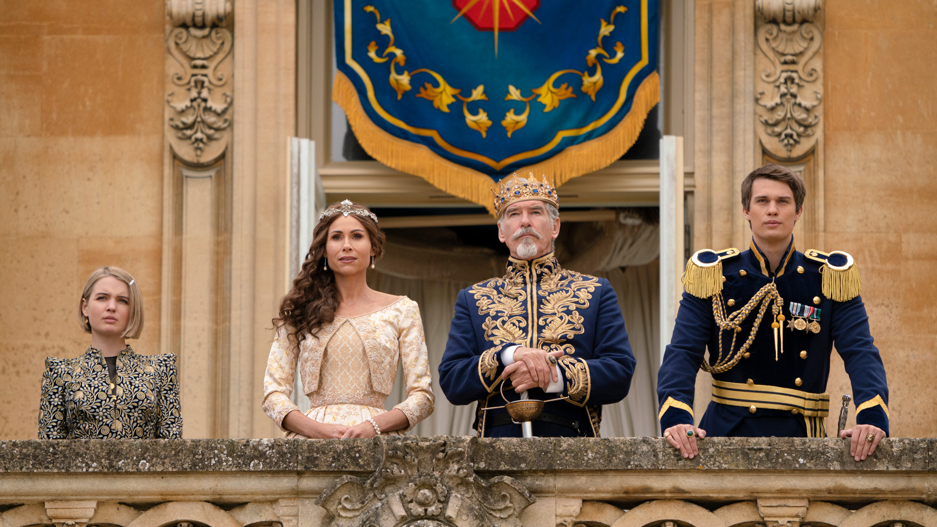 Die Königsfamilie in Cinderella