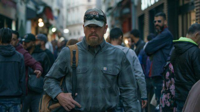 Matt Damon in einer zwielichtigen Umgebung; Header