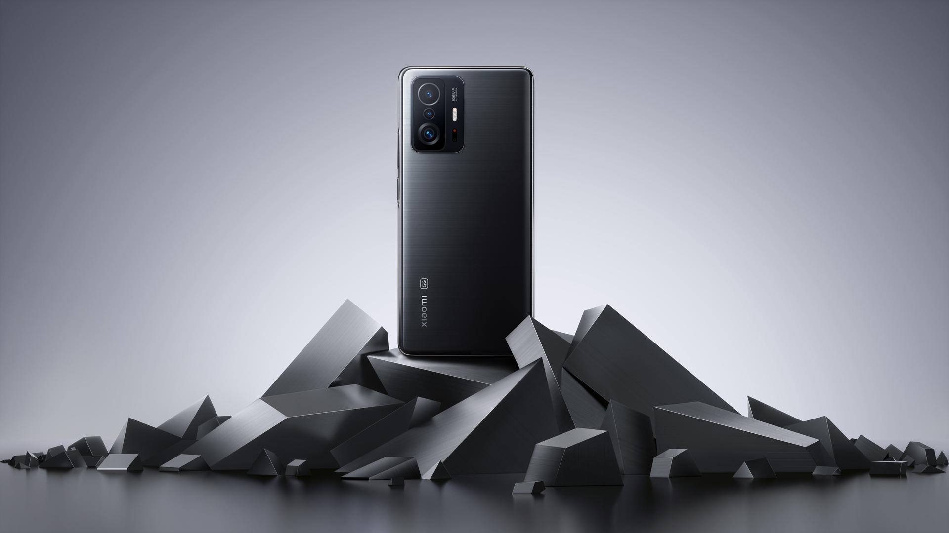 Das neue Xiaomi 11T Pro 5G in Meteorite Gray.