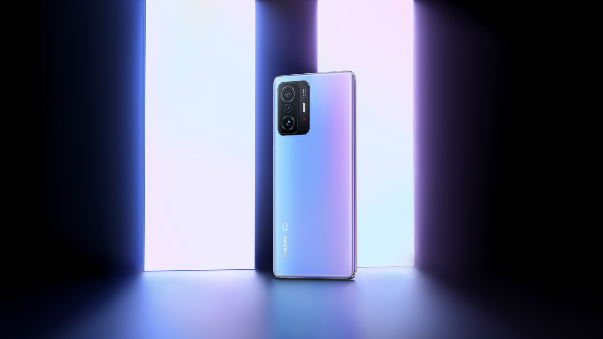 Das neue Xiaomi 11T Pro 5G in Celestial Blue.