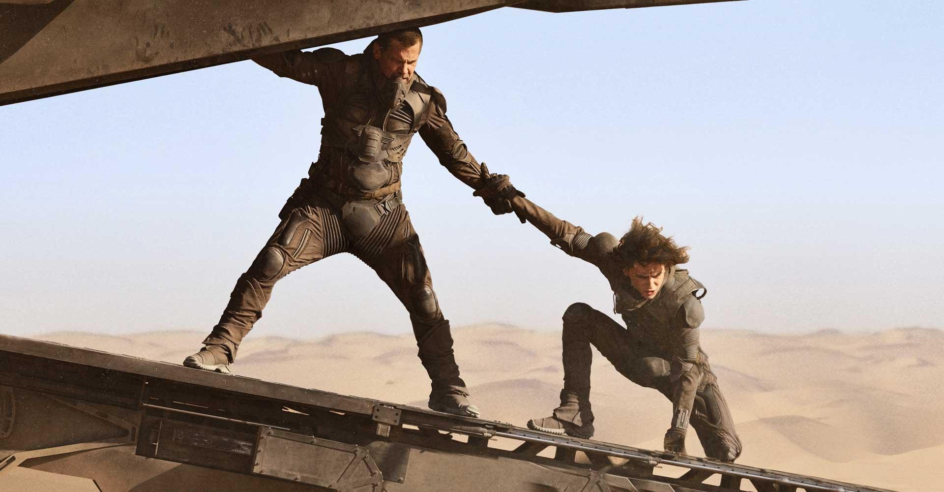 Timothée Chalamet und Josh Brolin in Dune