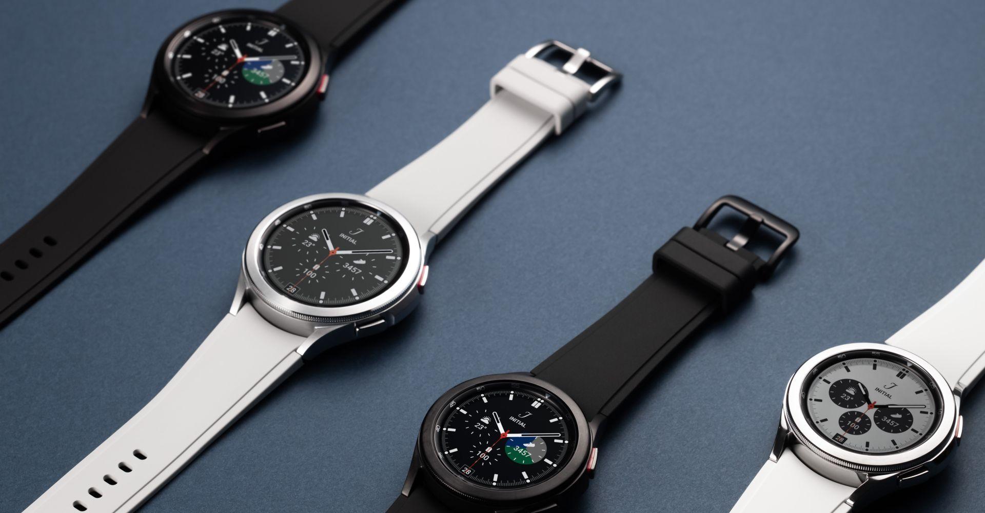 Die Galaxy-Watch4-Classic-Modelle.