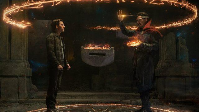 Tom Holland und Benedict Cumberbatch in Spider-Man: No Way Home