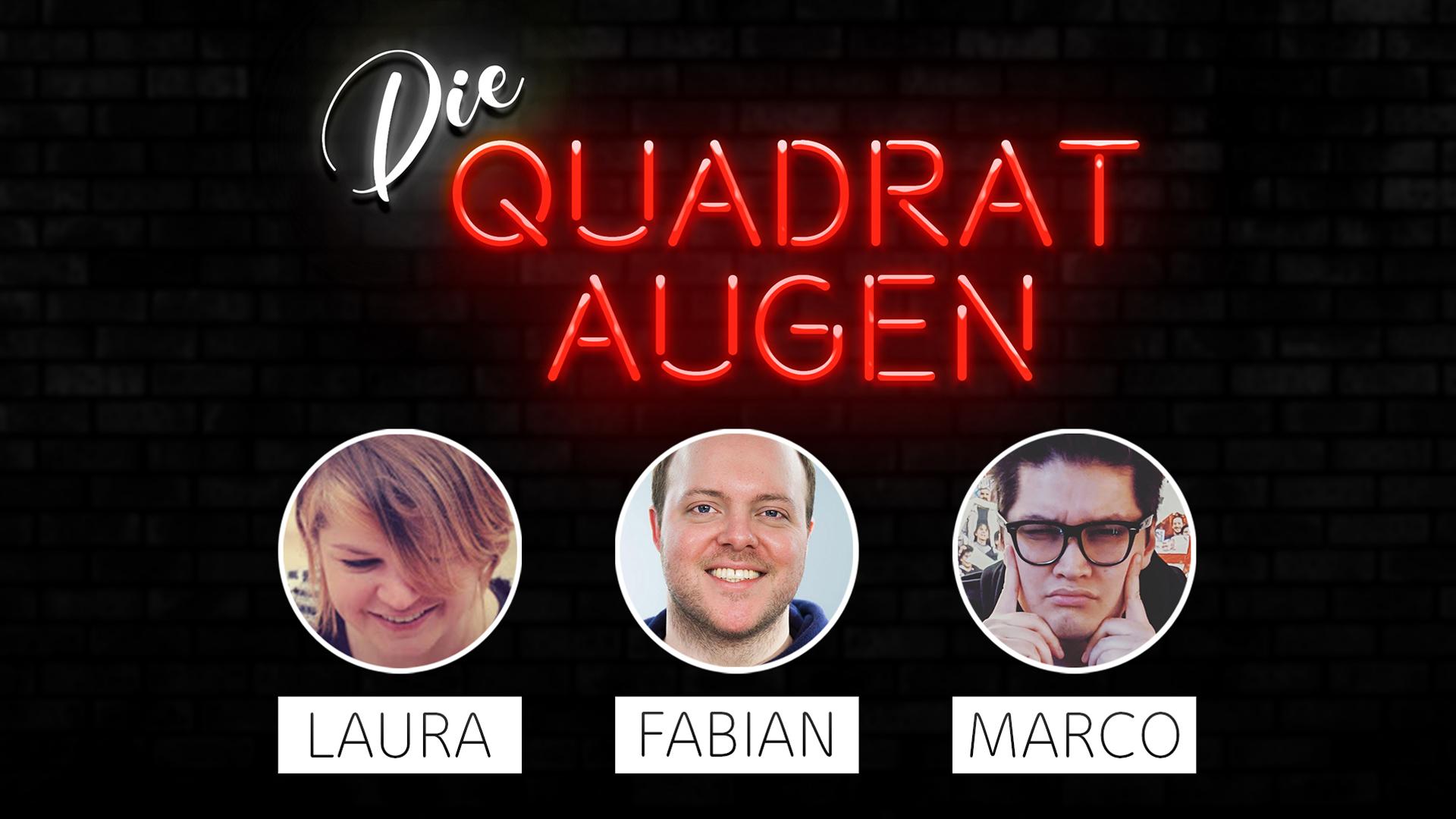 Die Quadrataugen-Podcast Podcastbanner