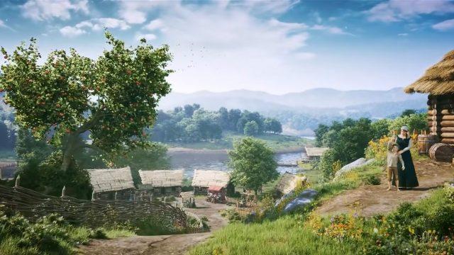 Ein Dorf in Medieval Dynasty
