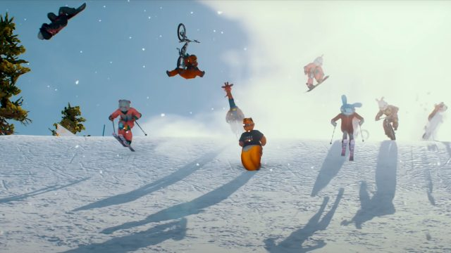 Screenshot aus Riders Republic